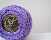 DMC Perle Cotton Thread 208 Size 8 Very Dark Lavender