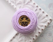 DMC 211 - Light Lavender - Perle Cotton Thread  Size 12