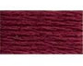 DMC 814 Dark Garnet Perle Cotton Thread Size 8