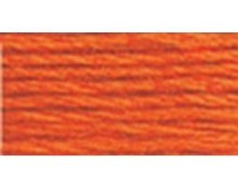 DMC 947 - Perle Cotton Thread Size 8 - Burnt Orange