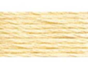 DMC 3823 - Ultra Pale Yellow -  Perle Cotton Thread Size 8