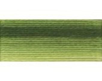DMC 92 Perle Cotton Thread Size 8 Variegated Avacado Green
