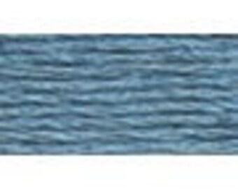 DMC 931 - Medium Antique Blue Perle Cotton Thread Size 8
