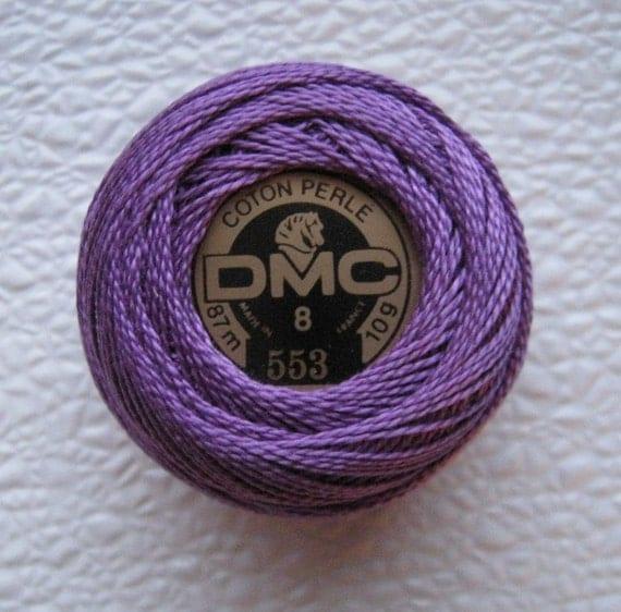 DMC 553 - Violet - Perle Cotton Thread