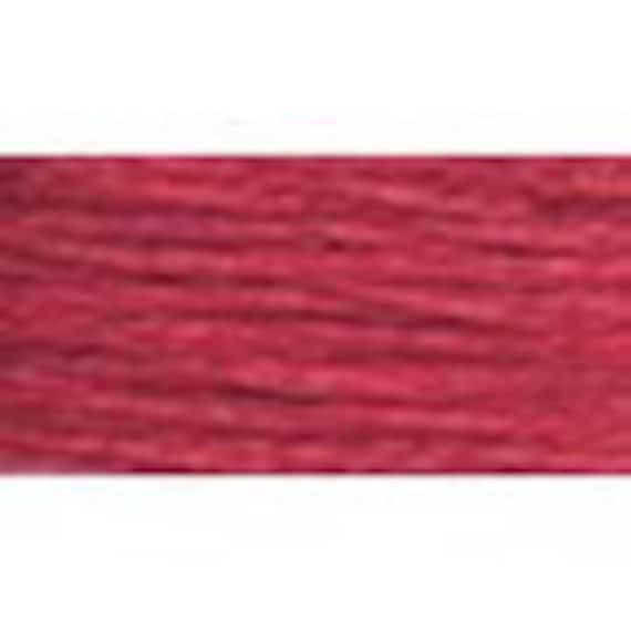 DMC 309 - Dark Rose Perle Cotton Thread Size 8
