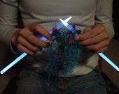 NeedleLite Lighted Knitting Needles, US Size 11 Long, 1 Pair