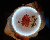 NeedleLite Lighted Embroidery Hoop - 8-inch diameter