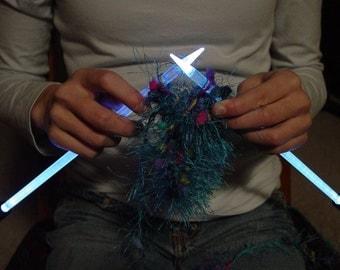 NeedleLite Lighted Knitting Needles, US Size 10 1\/2 Short, 1 Pair