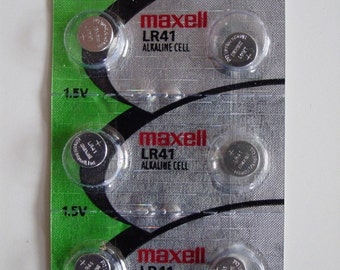6-Pack of Replacement LR41 Batteries for NeedleLite Products