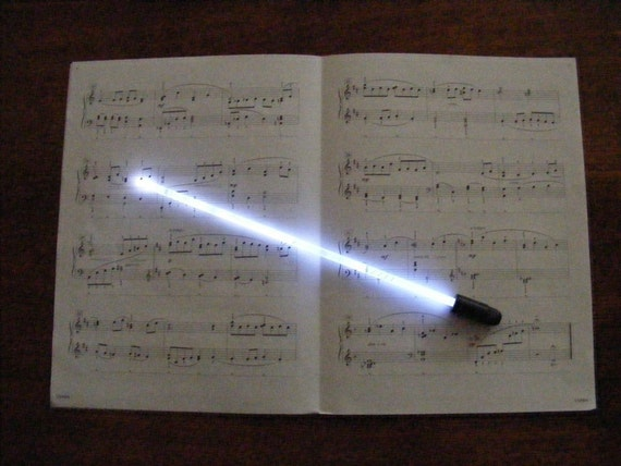 needlelite lighted conductor baton by needlelite on etsy. Black Bedroom Furniture Sets. Home Design Ideas
