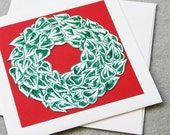 Ivy Wreath Card