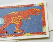 Ted Tyrannosaurus Card