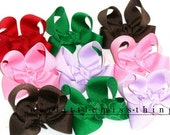 MsThing Custom Boutique Toddler Hairbows set of 6, you choose