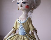 Hecuba, a One of a Kind Queen Anne Doll