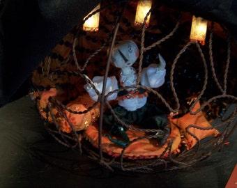 Ooak Halloween Pumpkin GiaYa GryhmHolde  Electrified