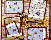12 X 12 Premade Scrapbook pages Travel