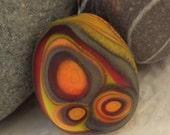 Lampwork Pebble Focal - Desert Rock - SRA - FHFteam Y3 - GBUK - CPteam