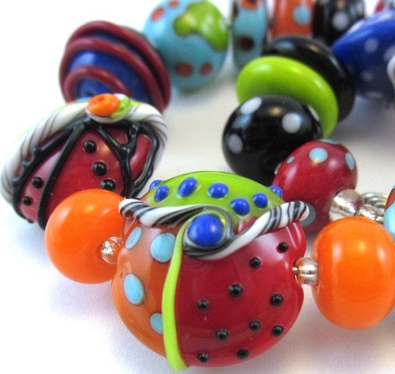 Harlequin Mini Bead Set