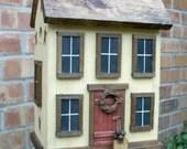 Large Country Garden Farmhouse Birdhouse