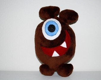 Milo, the friendly plush monster