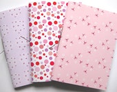 Pack of 3 Handmade Notebooks - Set 3