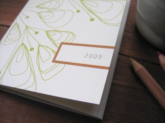 2009 pocket planner - feather