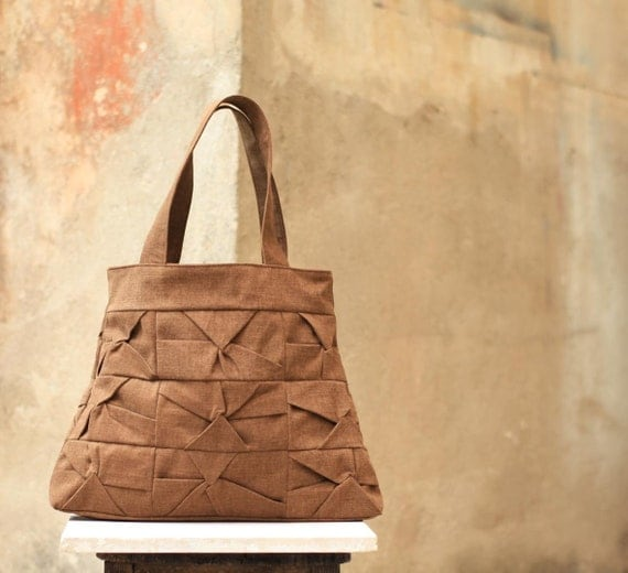 Crisalide bag in toasted brown