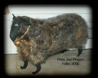 Primitive Wooly Sheep -mailed pattern