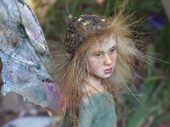 Pixie girl Cosima ooak made by Tatjana Raum