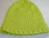 SuperLime Organic Cotton Toddler Hat