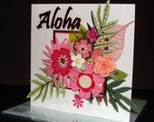 Aloha Floral Mania Card