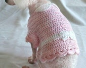 Crochet Pattern -  Crochet Pattern - dog sweater crochet pattern, dog shirt crochet pattern, dog clothing crochet pattern