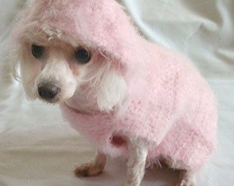 Dog Crochet Pattern - Hush-A-By-Baby Hoodie for Dog