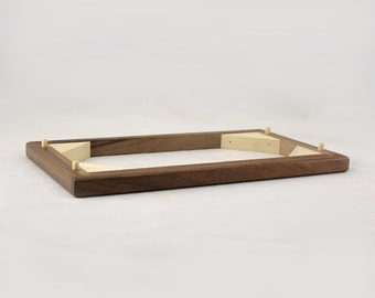 Modular Jewelry Box System - Walnut Spacer