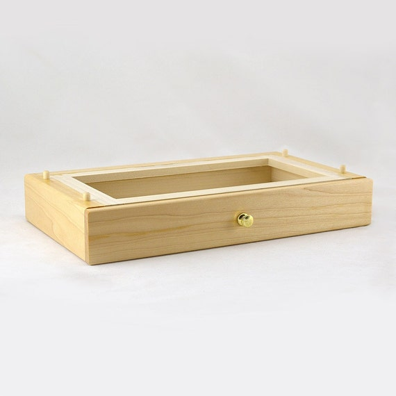 Modular Jewelry Box System - Maple Standard Drawer