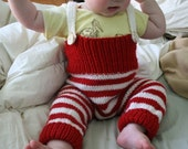 Two Pairs of Knit Overalls- RESERVED FOR KATLINK