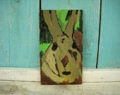 Peter Rabbit Original Painting - SOLD - I can paint one like it if you like it.