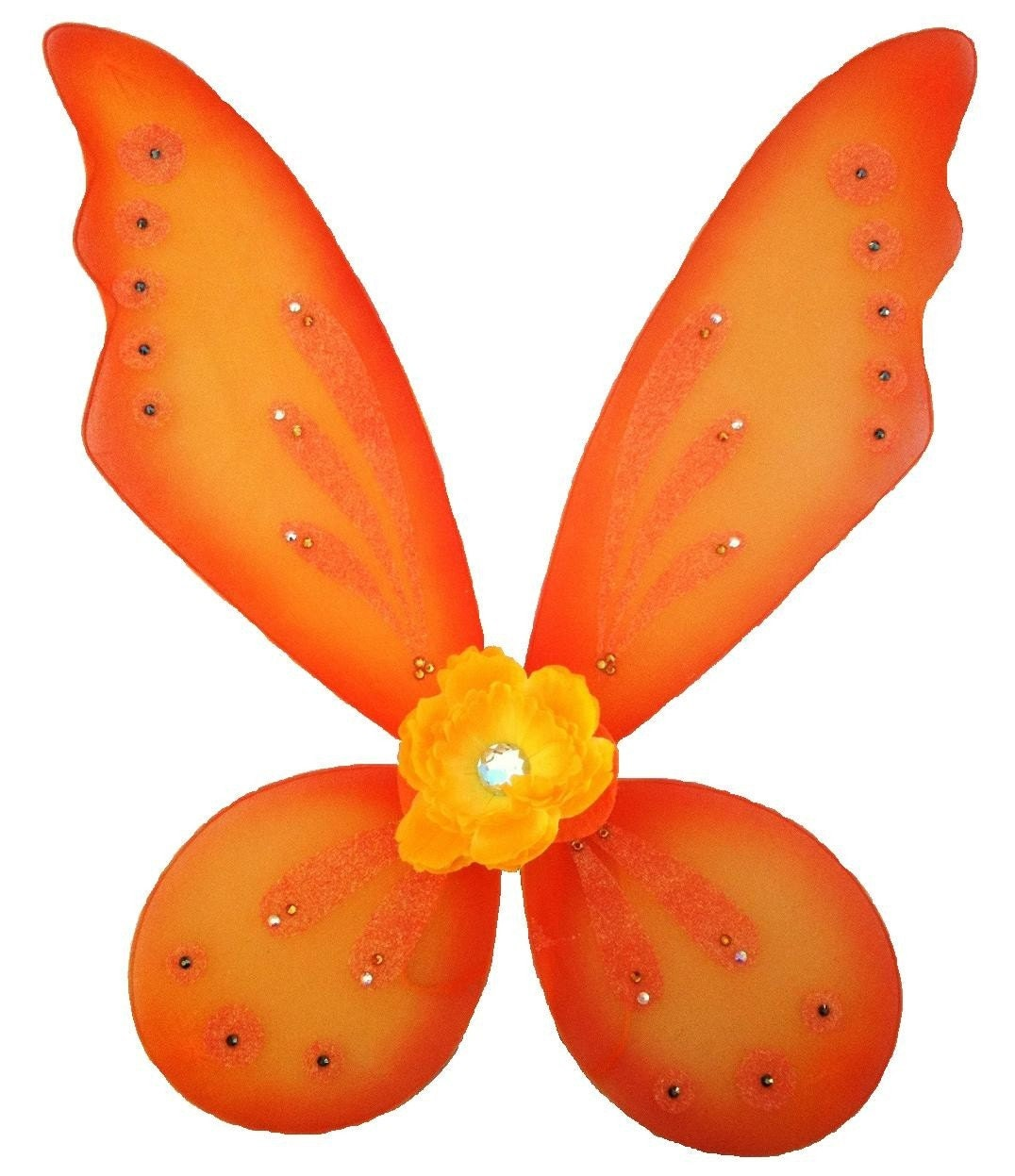 Monarch Fairy Custom Orange Fairy Wings with by starvisions