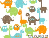 Baby Animals  Clip Art -  Mega Set Clipart - Set 1Oliver