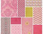 Haven Printable Scrapbook Paper Pink Damask Digital Download Pink Chevron Craft Sheet per