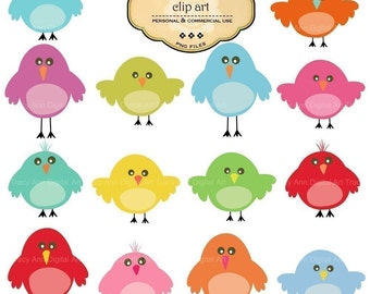 Cute birdie clip art
