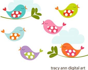 Popular items for bird clip art