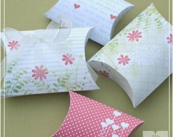 Pillow Box Printables