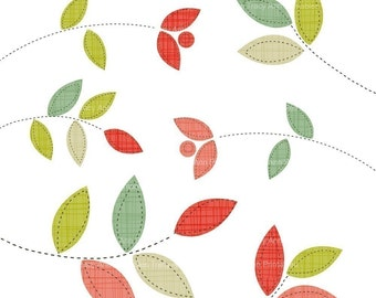 Decorative leaf Clip Art -  commercial and personal use (set 1)