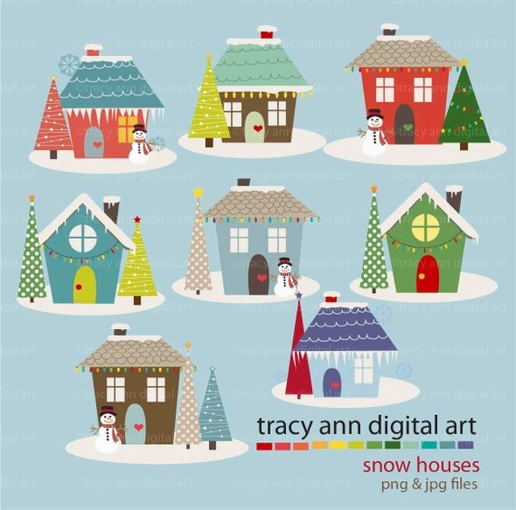 house winter clipart - photo #36