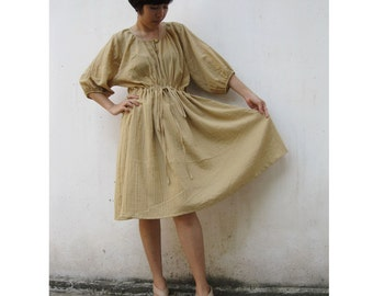 Soft cotton simply dress blouse one fit all most  (M)