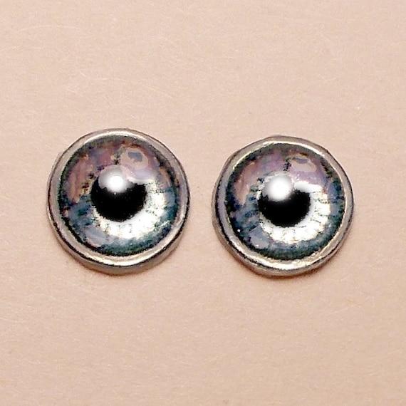 Doll Eyes 6mm AD4 Metallic color Anime Gray