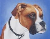 Custom Pet Portrait Acrylic Painting 8x8