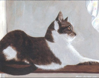 Custom Pet Portrait Acrylic Painting 8 by 10