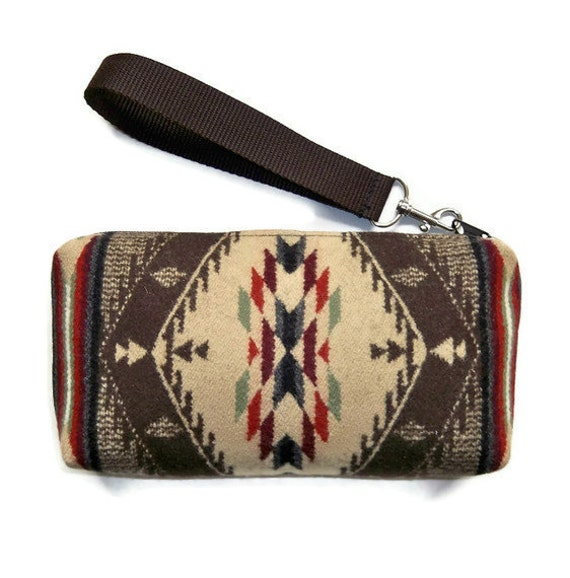 Pendleton Wool Purse Wrist Bag Clutch Spirit of the People